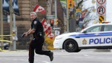 Photo of الشرطة الكندية تلاحق شابا قاد سيارته بطريقة خطرة